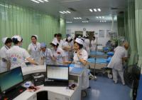 市一医院进行护理人员紧急调配应急演练