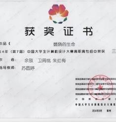 我院实习生组队参加2014年(第7届)中国大学生计算机设计大赛荣获三等奖