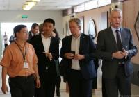 老年医疗与健康中国荷兰国际合作专家组到成都市中西医结合医院参观访问