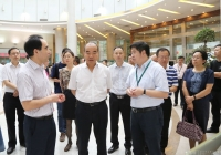 昆明市政协副主席刘绍安一行到成都市第一人民医院调研