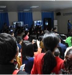 """我院成功举办2017年度""""妇产科超声临床应用与进展""""培训班"""