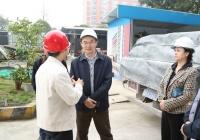 市卫计委张轶副主任现场调研我院项目建设工作