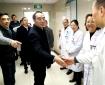 市卫计委主任谢强看望慰问我院医务人员开展节前安全生产检查
