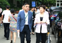 刘筱柳副市长一行督导我院三期项目建设情况