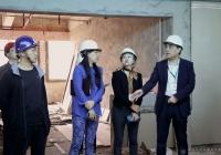 赵聪院长督查医院三期项目建设推进情况