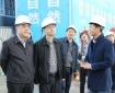 市卫计委董勇副主任一行调研我院三、四期项目建设情况