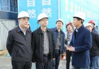 市卫计委董勇副主任一行调研明士亚洲msyz888三、四期项目建设情况