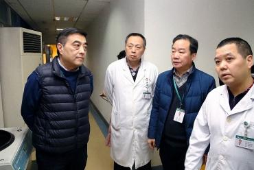市一医院赵聪院长带队实地考察医院整体布局