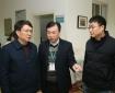 市卫健委党组成员、副主任刘德成一行到我院调研流感医疗救治工作