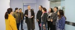 马家驹教授到名仕亚洲国际娱乐城进行交流访问