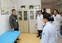 市中西医结合医院赵聪院长带队对医院急诊应急能力进行检查