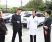 高新区基层治理和社会事业局张静副局长一行到市中西医结合医院开展节前安全生产检查工作