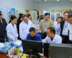 国家卫健委监督中心主任胡光一行到成都市中西医结合医院进行抗(抑)菌制剂专项检查