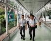 成都市中西医结合医院赵聪院长一行到广东省中医院参观学习交流