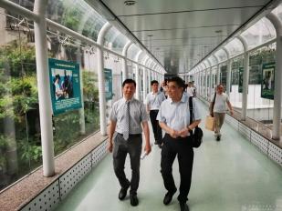 成都市中西醫結合醫院趙聰院長一行到廣東省中醫院參觀學習交流