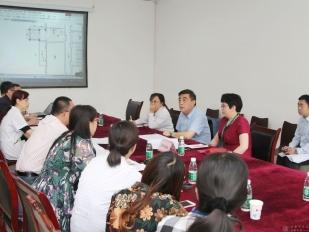 名仕亚洲国际娱乐城赵聪院长一行前往北区考察儿童康复科体系建设工作