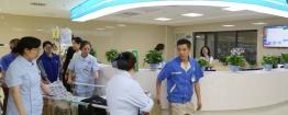 市中西医结合医院第三住院大楼顺利完成第二批科室搬迁
