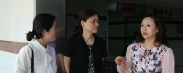 绵阳市卫健委李晓林副主任一行到市中西医结合医院考察交流