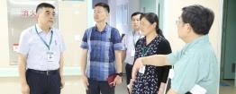 成都市中西医结合医院赵聪院长带队对第三住院楼运行情况进行现场督导