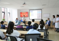 世界知名重症医学专家来市中西医结合医院ICU讲学交流访问