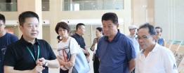 山西省吕梁市政协教科卫体委贾征荣主任一行到名仕亚洲国际娱乐城调研
