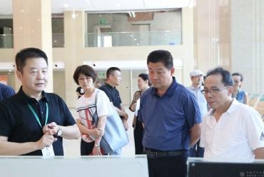 山西省吕梁市政协教科卫体委贾征荣主任一行到成都市中西医结合医院调研