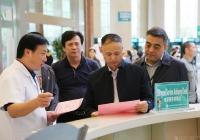 市卫健委副主任贾勇一行到成都市中西医结合医院调研卫生健康国际化营商环境建设工作