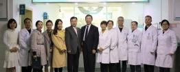 美国著名全科医学秦普教授深入基层医疗机构开展交流指导