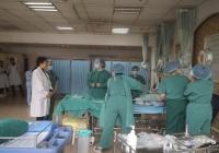 成都市中西醫結合醫院產科節前開展產后出血急救演練