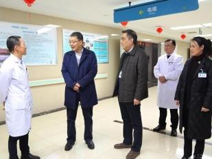 成都中医药大学余曙光校长一行到成都市中西医结合医院交流