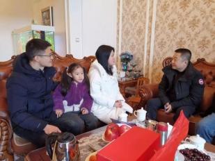 新春佳节走访慰问援藏援彝干部