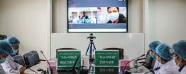 四川首家,5G+中医药远程会诊武汉方舱医院患者