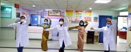 隔离病房中的最美舞者——援藏医生教你民族健身操