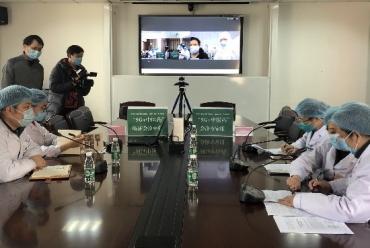 【人民日報】四川首次5G中醫會診連線方艙醫院