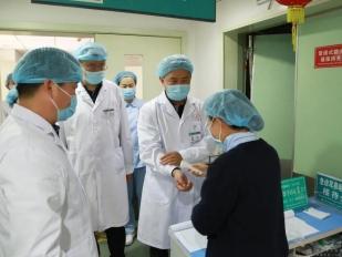 防疫工作再细化、再部署、再落实——成都市中西医结合医院开展新冠肺炎疫情防控工作督查