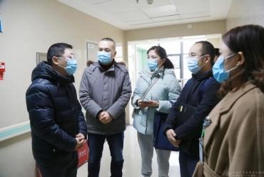 工作动态   市卫健委到成都市中西医结合医院调研疫情防控工作开展情况