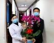 工作动态 | 市卫健委一级调研员张峰来到成都市中西医结合医院开展走访慰问活动