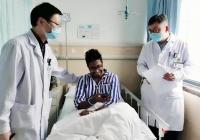 名医名院   孟加拉国小伙半月板修复手术顺利完成:一医院的医生,不仅技术好,英文也好……