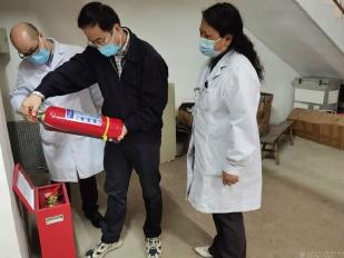 工作动态   市卫健委陈沙宁副主任督查成都市中西医结合医院安全生产工作
