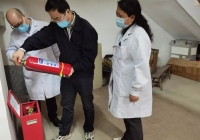 市衛健委陳沙寧副主任督查成都市中西醫結合醫院安全生產工作