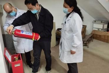 市卫健委陈沙宁副主任督查成都市中西医结合医院安全生产工作