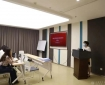 市卫健委到成都市中西医结合医院开展成都市营养健康食堂建设情况调研