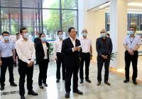 杨兴平副省长来到成都市第一人民医院看望慰问医务工作者