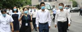 四川省副省长陈炜到成都市中西医结合医院儿童康复中心调研